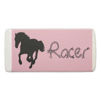 Borracha Eliminador do rosa do piloto de cavalo