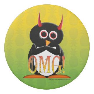 Borracha Eliminador mau do pinguim de OMG para sua
