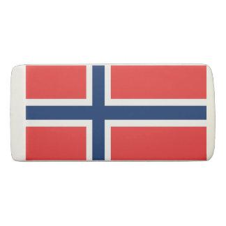 Borracha Eliminador patriótico da cunha com a bandeira de