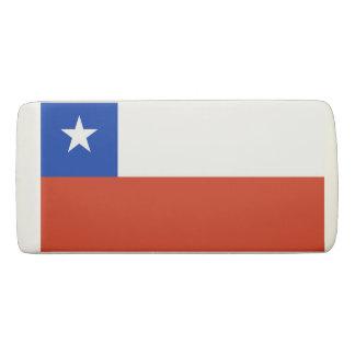 Borracha Eliminador patriótico da cunha com a bandeira do