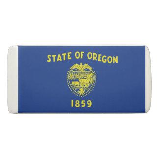 Borracha Eliminador patriótico da cunha com bandeira Oregon