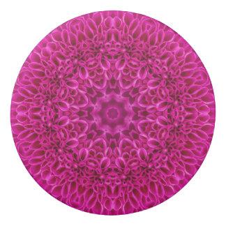 Borracha Eliminadores cor-de-rosa do teste padrão de flor,