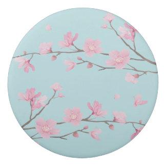 Borracha Flor de cerejeira - azul-céu