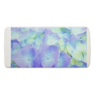 Borracha Flores azuis & amarelas do Hydrangea