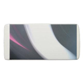 Borracha Foto abstrata das raias do branco, do rosa & das