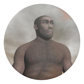Borracha Homo erectus masculino - 3D rendem