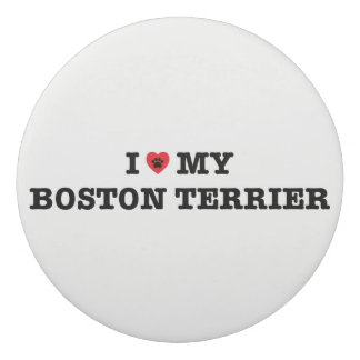 Borracha Mim coração minha Boston Terrier