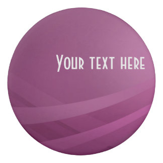 Borracha Onda roxa moderna simples do Lilac - eliminador