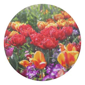 Borracha Ondas florais dos carmesins de Falln