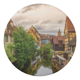 Borracha Pouca Veneza, pequeno Venise, em Colmar, France