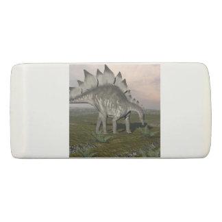 Borracha Stegosaurus com fome - 3D rendem