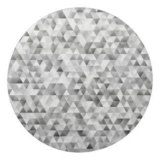 Borracha Teste padrão cinzento do triângulo