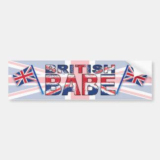 Borracho britânico adesivo para carro