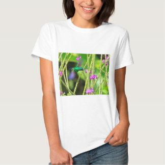 Borrão pairando do colibri tshirt