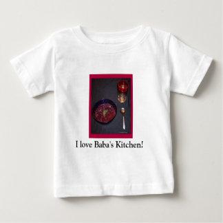 Borshch & vodca ucranianos da comida da alma da t-shirt