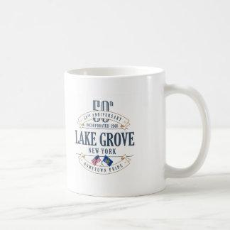 Bosque do lago, caneca do aniversário de New York