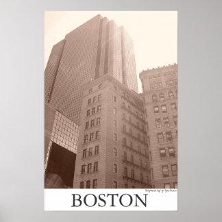 "Boston - ""cidade iluminada "" pôster"