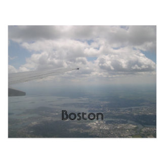 Boston do ar cartão postal
