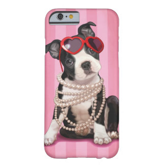 Boston Terrier Capa Barely There Para iPhone 6