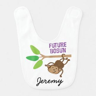 Bosun futuro babador personalizado do bebê