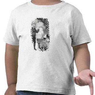 Boswell e o fantasma de Samuel Johnson T-shirt