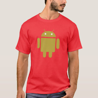 Bot oficial do Android Camiseta