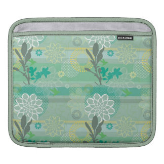Botânico bonito bolsas de iPad