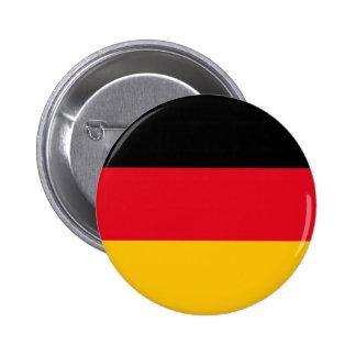 Botão alemão das cores bóton redondo 5.08cm