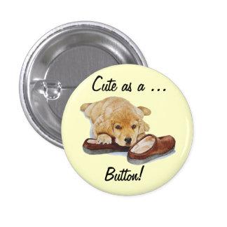 botão bonito da arte de labrador retriever do cão  bóton redondo 2.54cm