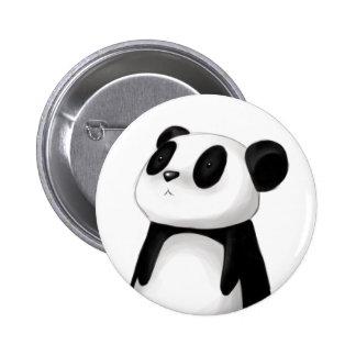 Botão bonito da panda bóton redondo 5.08cm