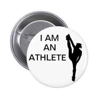 Botão Cheerleading do atleta Bóton Redondo 5.08cm