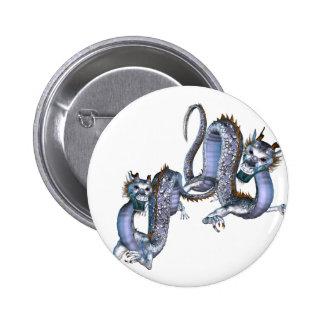 Botão chinês dos dragões botons