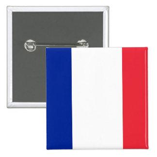 Botão com a bandeira de France Boton