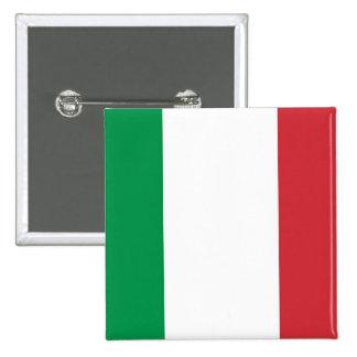 Botão com a bandeira de Italia Boton