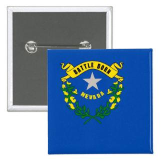 Botão com a bandeira de Nevada Pins