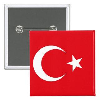 Botão com a bandeira de Turquia Botons