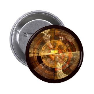 Botão da arte abstracta da integridade (redondo) bóton redondo 5.08cm