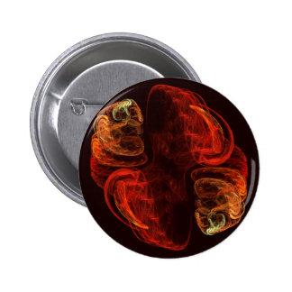 Botão da arte abstracta da metamorfose (redondo) bóton redondo 5.08cm
