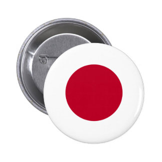 Botão da bandeira de Japão Bóton Redondo 5.08cm
