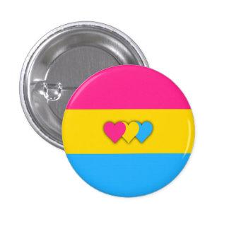 Botão da bandeira de Pansexuality Bóton Redondo 2.54cm