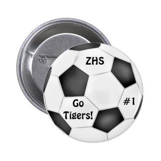 Botão da bola de futebol boton