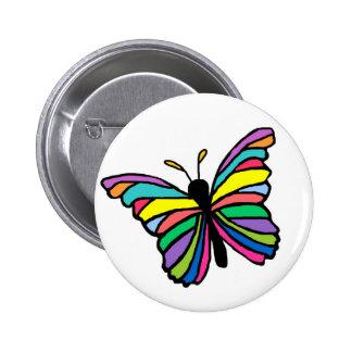 Botão da borboleta da páscoa bóton redondo 5.08cm