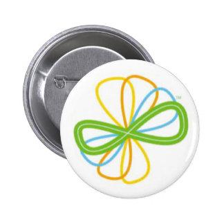 botão da energia alternativa do apoio bóton redondo 5.08cm