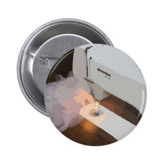 Botão da máquina de costura (princípios Sewing Bóton Redondo 5.08cm