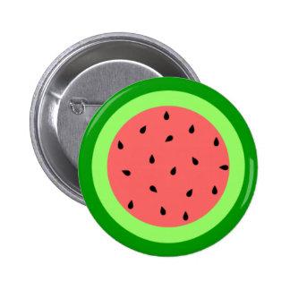 Botão da melancia botons
