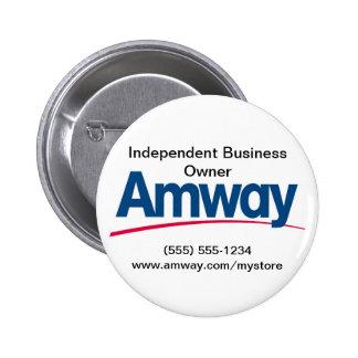 Botão de Amway Bóton Redondo 5.08cm