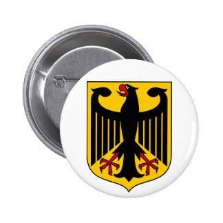 Botão de brasão de Alemanha Bóton Redondo 5.08cm