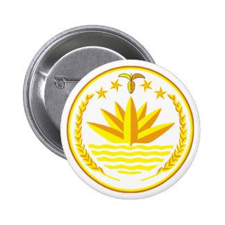 Botão de brasão de Bangladesh Bóton Redondo 5.08cm