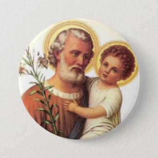 Botão de Jesus da criança de St Joseph - ideia do