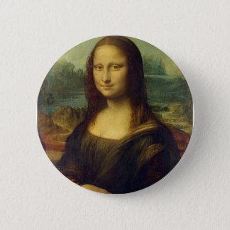 Botão de Mona Lisa Bóton Redondo 5.08cm
